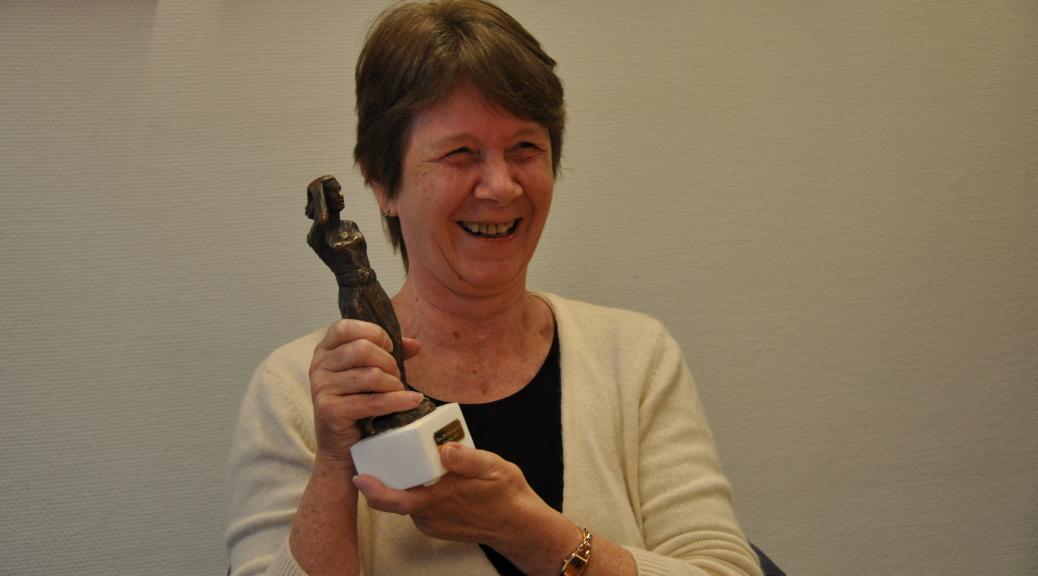 Gerda og statuetten