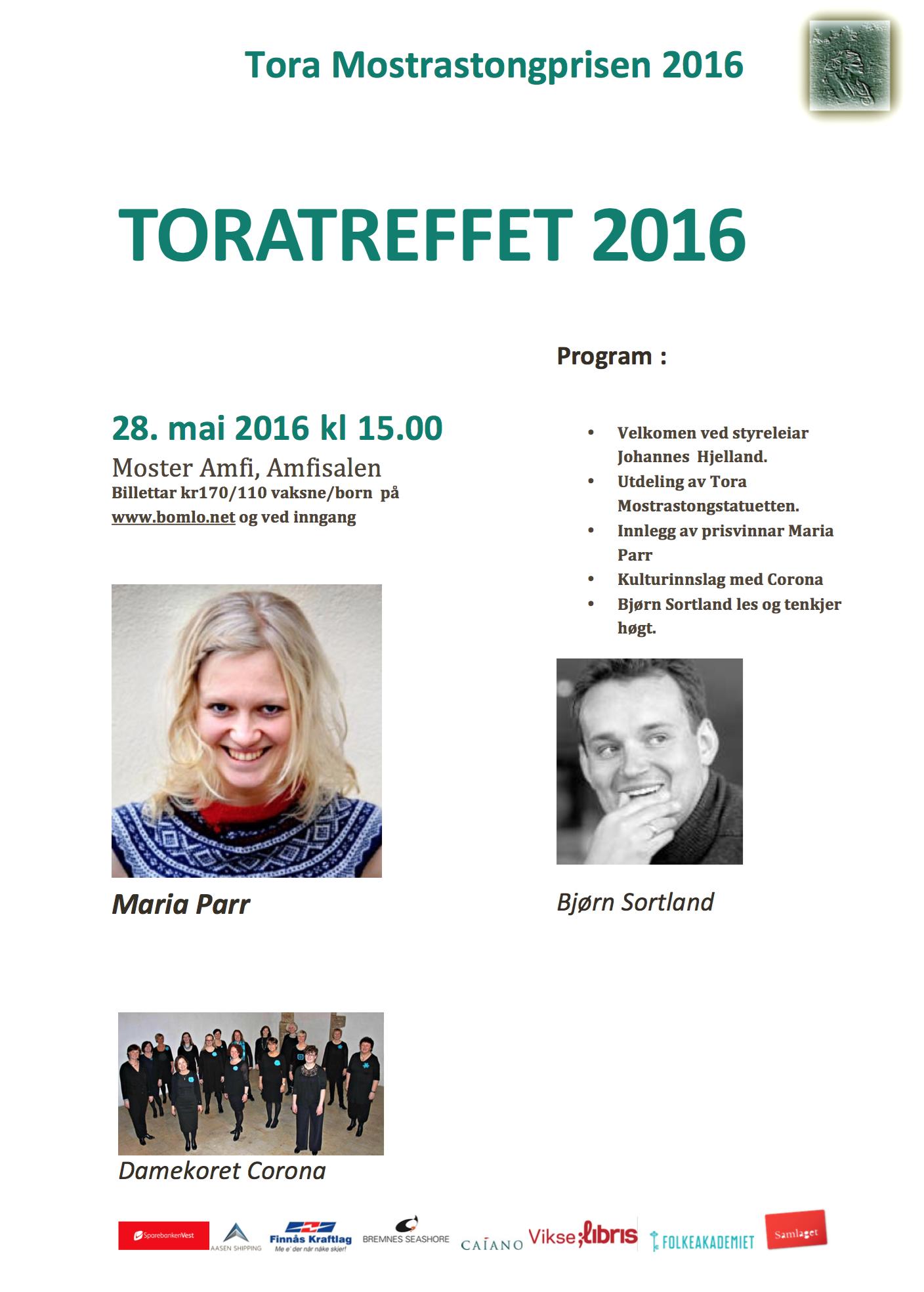Toratreff 2016 FB